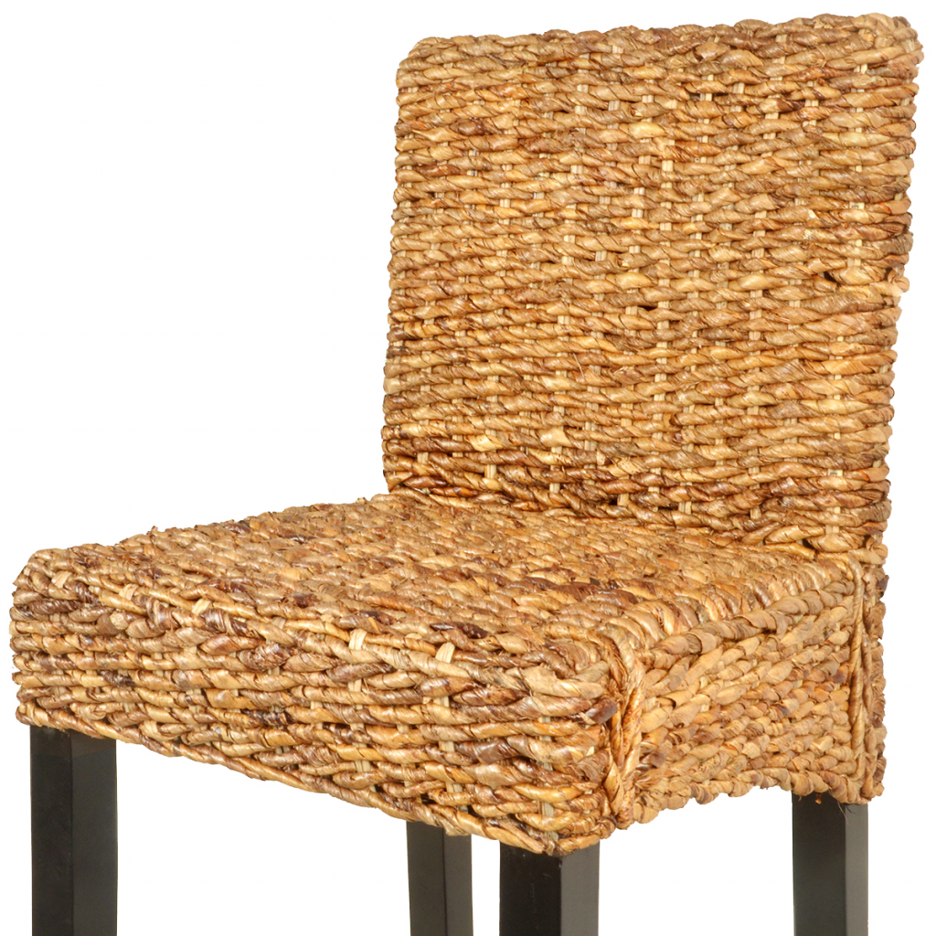 Picture of Dining Bar Stool - 2 pcs Abaca Brown
