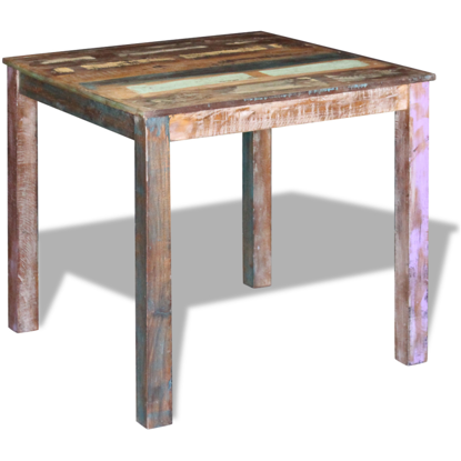 "Picture of Dining Table 31"" - Reclaimed Wood"