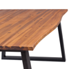 """Picture of Dining Table 71"""" - Solid Acacia Wood"""