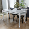 "Picture of Dining Table High Gloss 47"" - White"