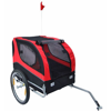 Picture of Dog Bike Trailer - Red