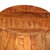 Picture of Drum Stool - Rough Mango Wood