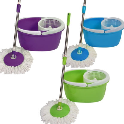 Picture of Floor Spin Mop with 2 Heads