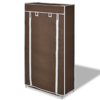 Picture of Fabric Shoe Cabinet with Cover - Brown