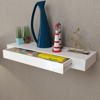 Picture of Living Room Book Shelf - White
