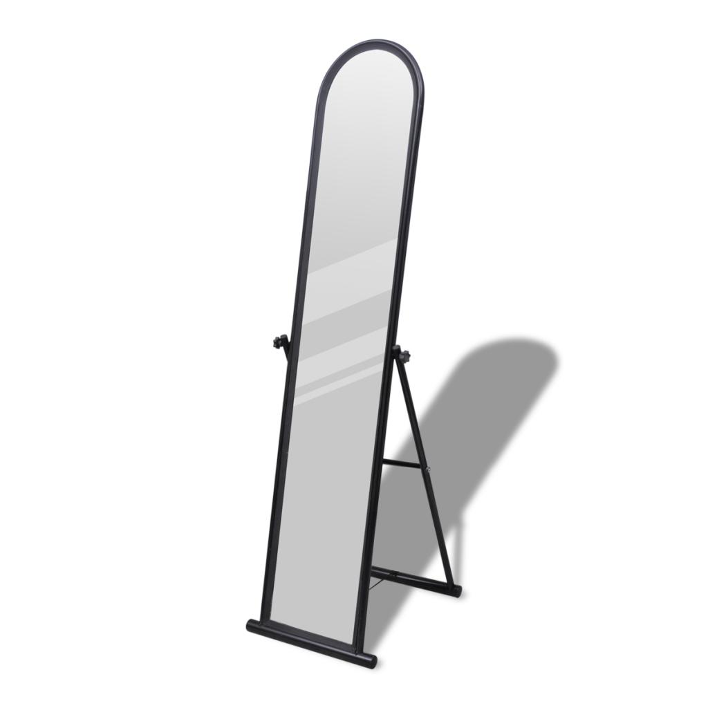 Picture of Floor Mirror Free Standing Full-Length Rectangular - Black