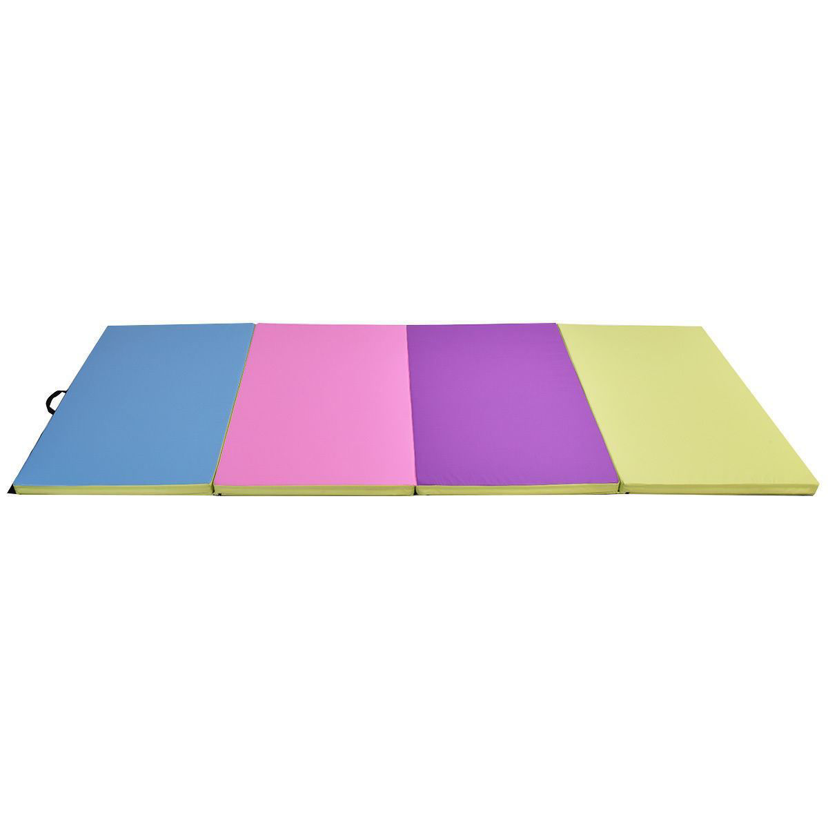 Picture of Folding Gymnastics Mat Multi-Color - 4' x 10' x 2""