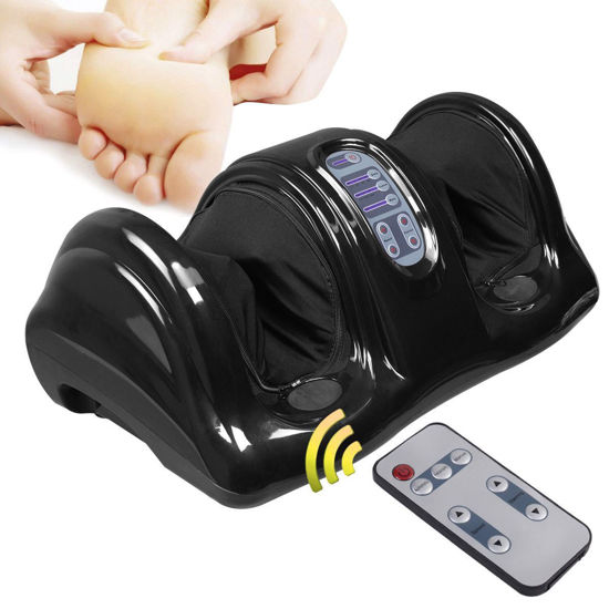 Picture of Foot Massager Shiatsu with Remote Black