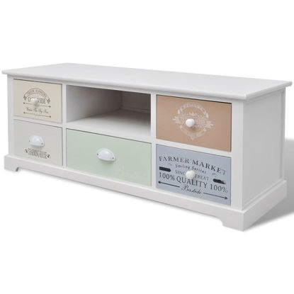 Picture of French TV Cabinet - Wood