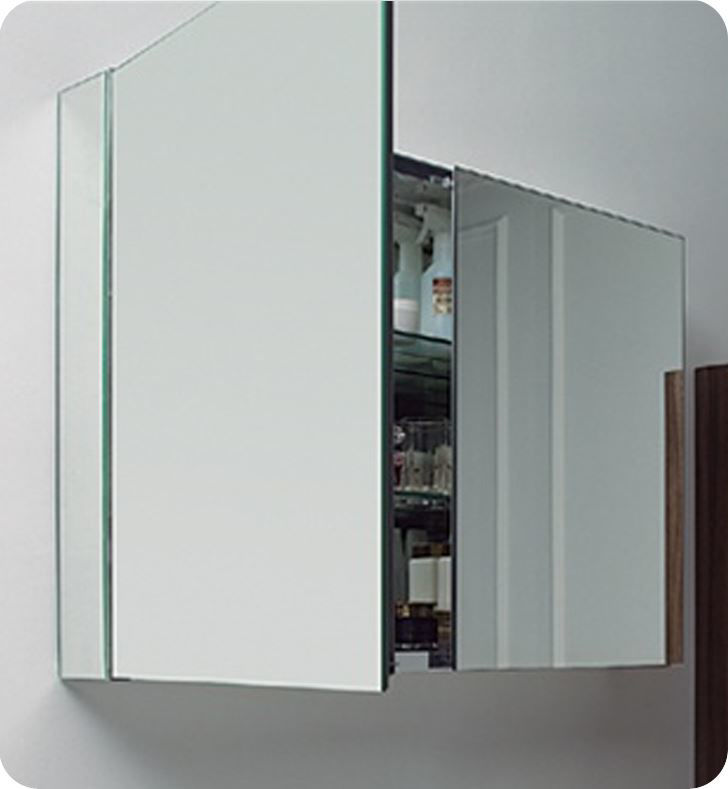 """Picture of Fresca 40"""" Wide Bathroom Medicine Cabinet with Mirrors"""