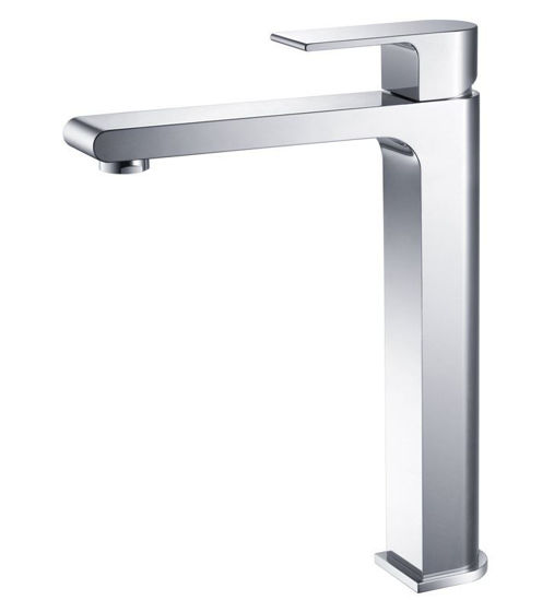 Picture of Fresca Allaro Single Hole Vessel Mount Bathroom Vanity Faucet - Chrome