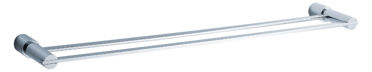 "Picture of Fresca Magnifico 25"" Double Towel Bar - Chrome"