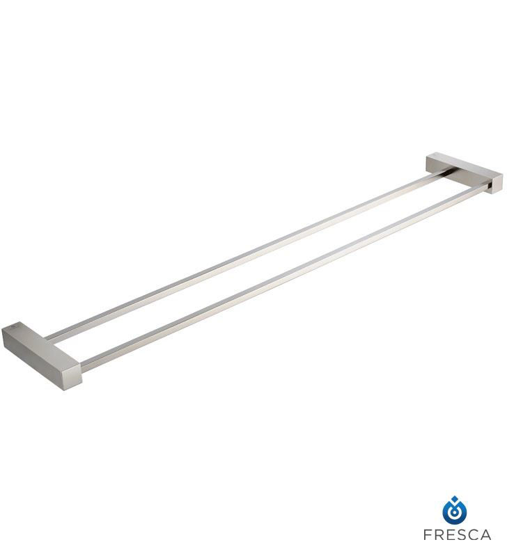 """Picture of Fresca Ottimo 25"""" Double Towel Bar - Brushed Nickel"""