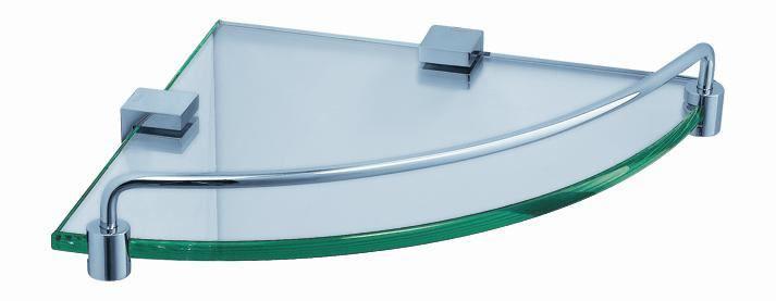 Picture of Fresca Ottimo Corner Glass Shelf - Chrome