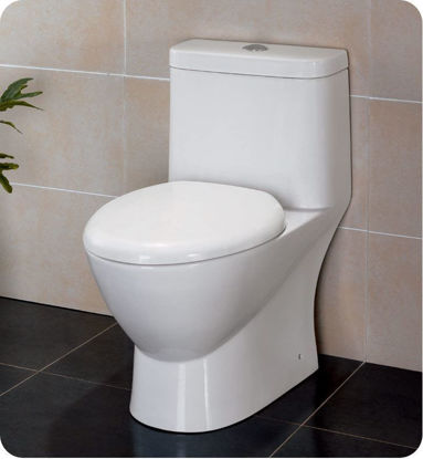 Picture of Fresca Serena One-Piece Dual Flush Toilet w/ Soft Close Seat