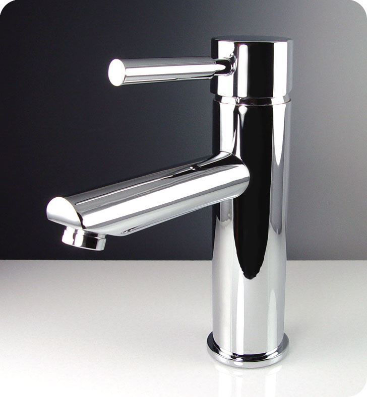 Picture of Fresca Tartaro Single Hole Mount Bathroom Vanity Faucet - Chrome