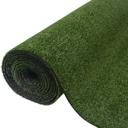 "Picture of Garden Lawn Artificial Grass 3.3'x33'/0.3""-0.4"" Green"