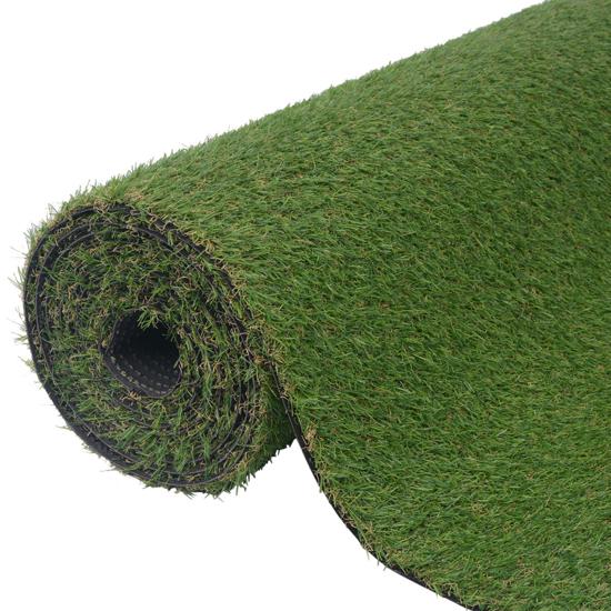 "Picture of Garden Lawn Artificial Grass 3.3'x33'/0.8""-1"" Green"