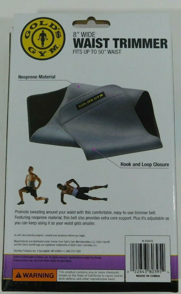 Picture of Gold's Gym Waist Trimmer Belt 8""