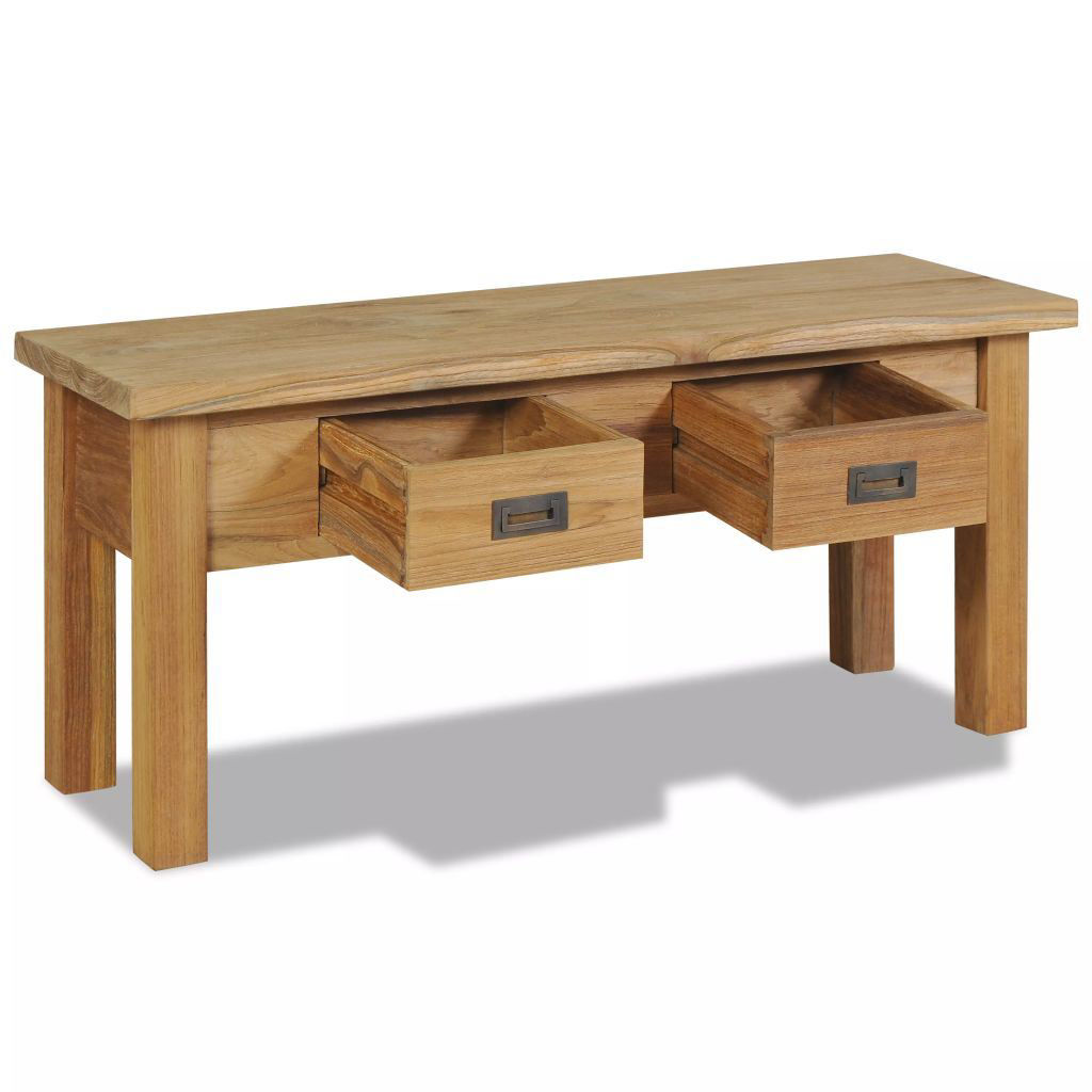 Picture of Hall Bench Solid Teak 35.4x11.8x15.7