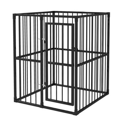 Picture of Heavy-Duty Outdoor Dog Kennel 4x4