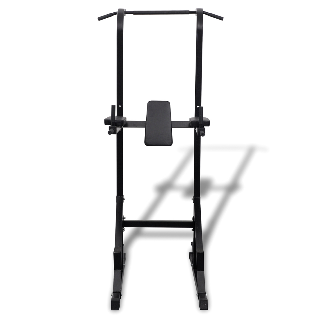 Picture of Home Gym Exercise Power Tower All-in-One Press Chest Shoulder Fitness Station