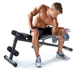Picture of Home Gym Fitness Weight Bench