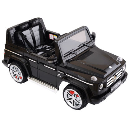 Picture of Kids Baby Ride On Toy Car Truck Licensed Mercedes Benz G55 12V Electric RC with Remote Control