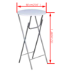 Picture of Kitchen Dining Folding Bar Tables - 4 pcs