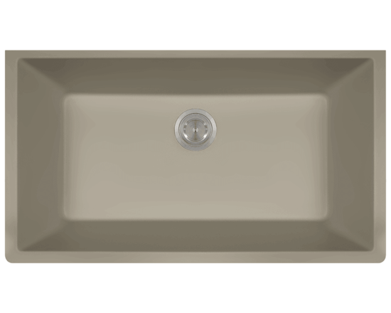 Picture of Kitchen Large Single Bowl Undermount Sink AstraGranite
