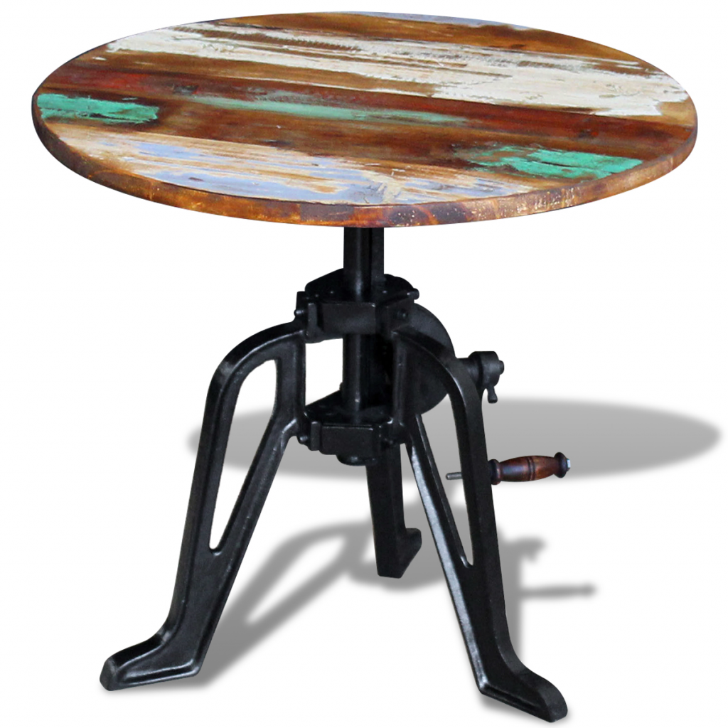 """Picture of Kitchen Side Table 23"""" - Solid Reclaimed Wood"""