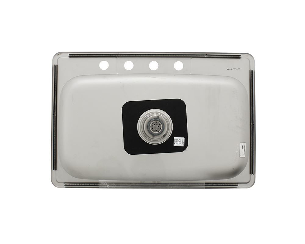Picture of Kitchen Single Bowl Topmount Sink - Stainless Steel