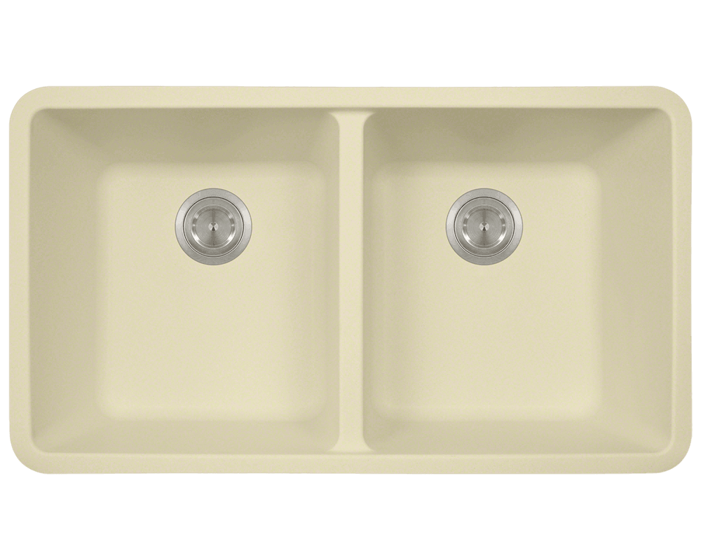 Picture of Kitchen Sink Double Equal Bowl AstraGranite