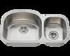 Picture of Kitchen Undermount Stainless Steel Sink Offset