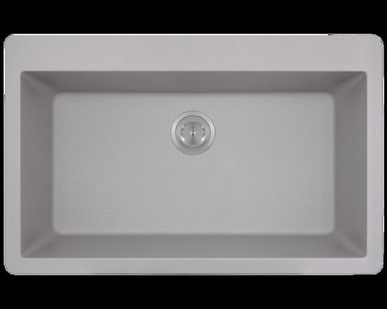 Picture of Large Single Bowl Sink Topmount AstraGranite