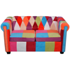 Picture of Living Room 2-Seater Sofa Chesterfield - Fabric