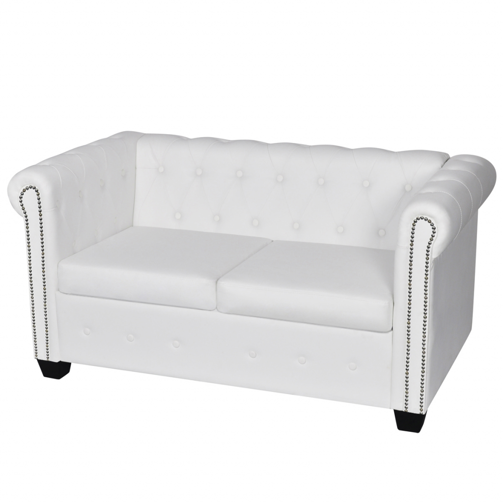 Picture of Living Room Sofa - White