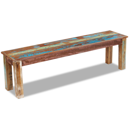 "Picture of Living Room Bench Solid 63"" - Reclaimed Wood"