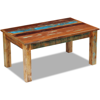 """Picture of Living Room Coffee Table - 39"""" Reclaimed Wood"""