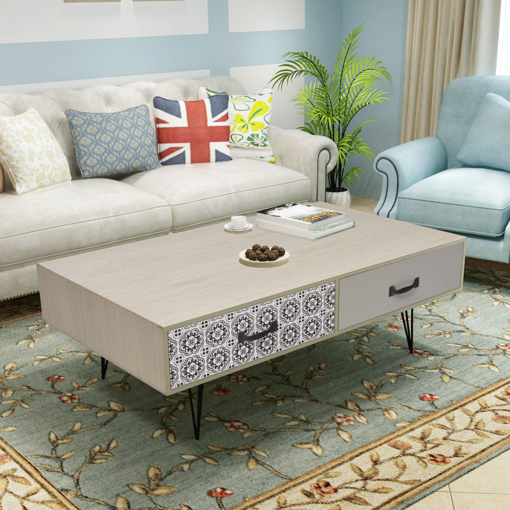 Picture of Living Room Coffee Table - Beige