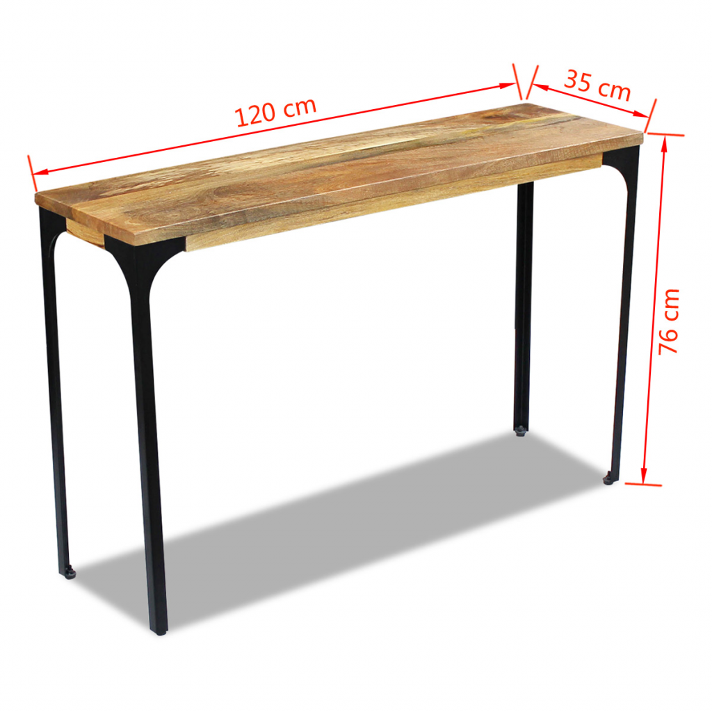 Picture of Living Room Console Table - Mango Wood