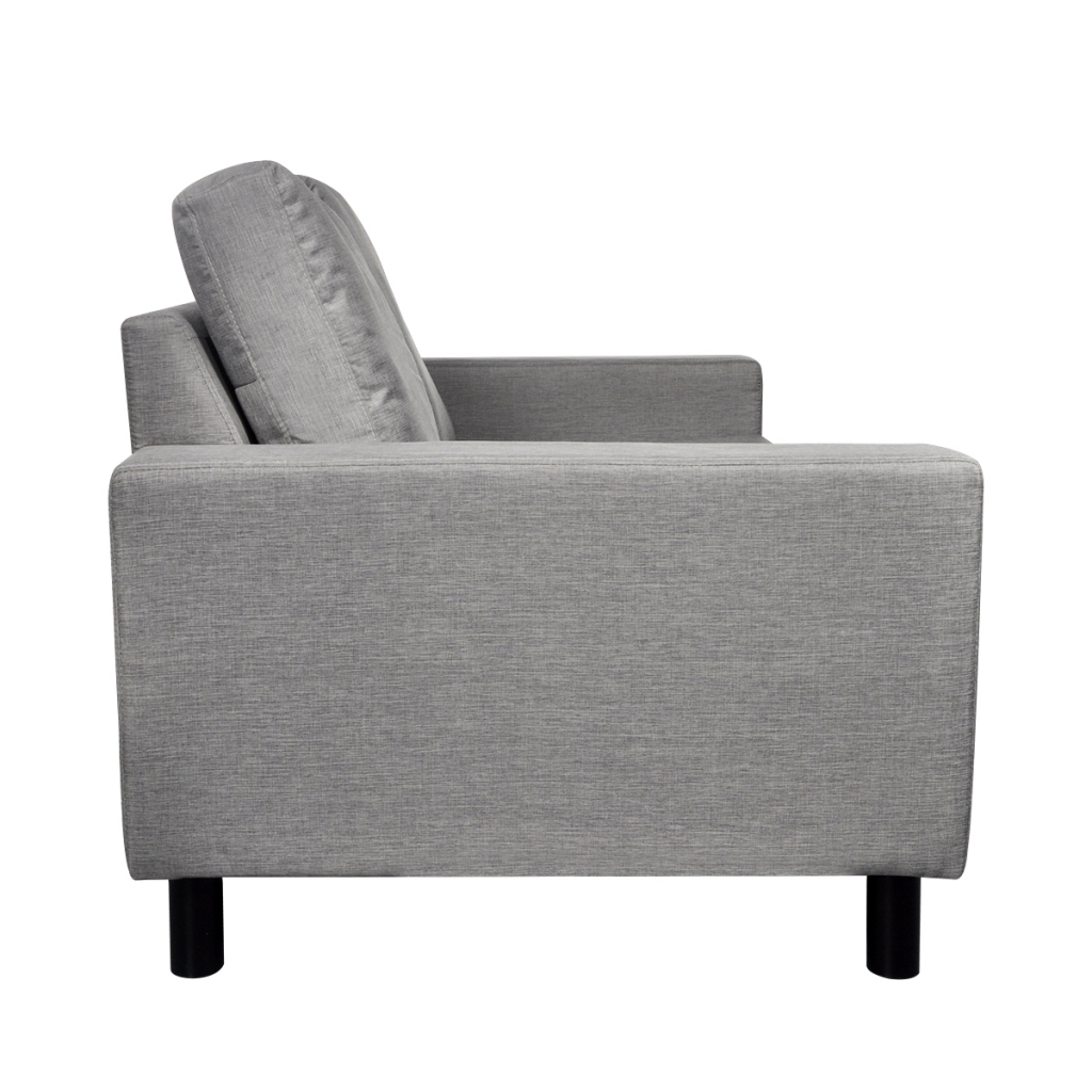 Picture of Living Room Couch Sofa 2-Seater - Light Gray