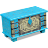 Picture of Living Room Storage Chest - Blue Mango Wood