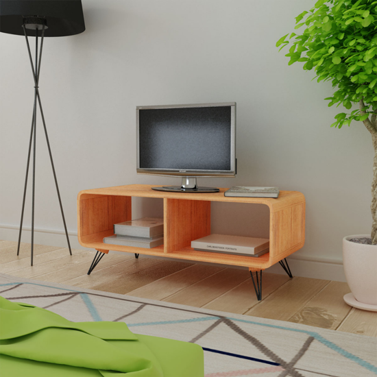 Picture of Living Room TV Cabinet - Wood Brown