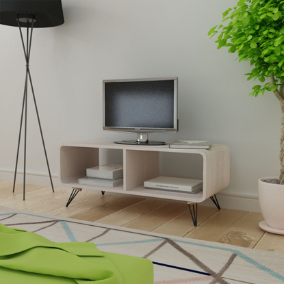 Picture of Living Room TV Cabinet - Wood Gray