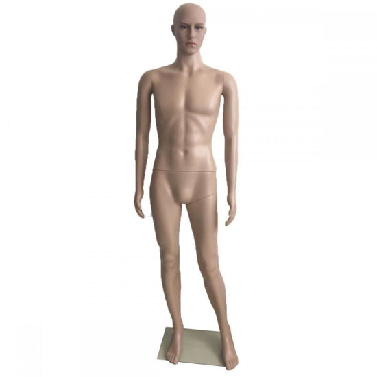 Picture of Male Full Body Mannequin Head Turns with Base