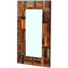 "Picture of Mirror Solid Reclaimed Wood 31.5""x19.7"""