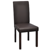 Picture of Modern Dining Chair - Brown 4 pcs