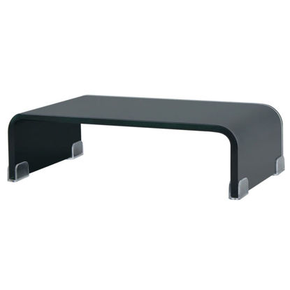 "Picture of Monitor Riser/TV Stand 15"" - Glass Black"