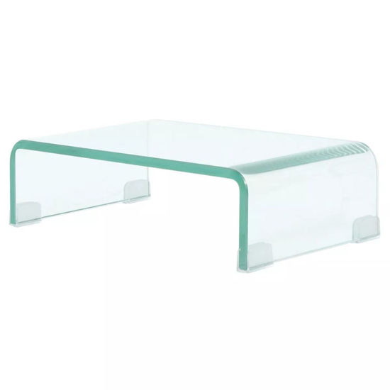 "Picture of Monitor Riser/TV Stand 15"" - Glass Clear"